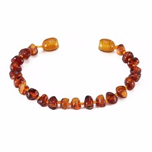 Baltic Amber Bracelet for Adult – Simple Package – 2 Sizes – 10 Colors