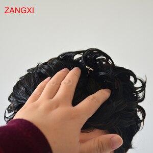 Image 4 - Манекен голова 52 смbald с черной подставкой для стола, 20 контактный женский манекен голова для париков, шляпа, дисплей, манекен, подставка для парика