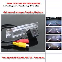 860 Pixels Car Rear Back Up Camera For Hyundai Sonata NF GF / Terracan Rearview Parking 580 TV Lines Dynamic Guidance Tragectory