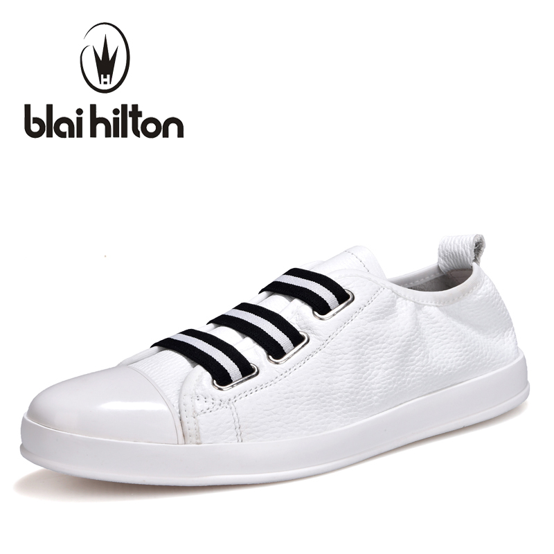 Blaibilton 100% Genuine Leather Slip On Fashion Personality Boat Mens Shoes Male Footwear men casual shoes Luxury Flat SD6688 branded men s penny loafes casual men s full grain leather emboss crocodile boat shoes slip on breathable moccasin driving shoes