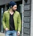 2017 homens Jaqueta de Inverno 90 de Pato Para Baixo Homens Jaqueta de Ultraleves Para Baixo Parka Jaqueta de Inverno Ao Ar Livre Com Saco de Transporte MA282