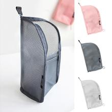 Travel Portable Makeup Brush Toothbrush Toothpaste Storage Bag Case Container
