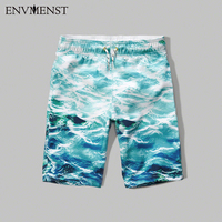 Men S Beach Shorts 2017 Summer High Quality Personality Printing S Thin Section Breathable Comfort Casual