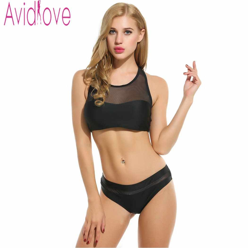 3a765b2d4fb Avidlove Brand Sexy Women Set Two Piece Outfits Crop Top and Pants Set  Casual Fitness Stretch