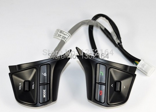 ФОТО  KIA RIO 2012 2013 multifunctional steering wheel control button Audio channel and bluetooth