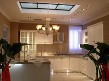 PVC/vinyl kitchen cabinet(LH-PV040)