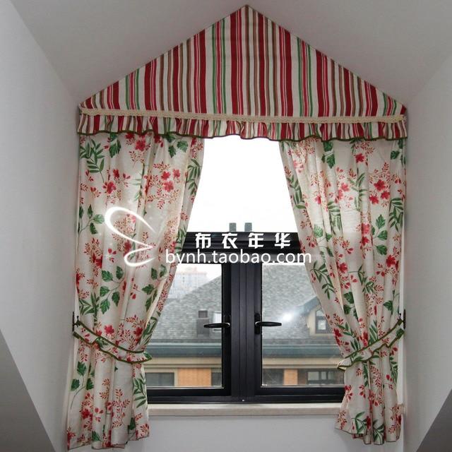 Vorhang Dreiecksfenster hochwertige leinen style vorhang dreieck fenster speziell