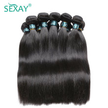 Sexay Brazilian Striaight Human Hair Pre Colored Non Remy Straight Hair Extensions 10 Bundles Lot Free Shipping Wholesale Hair(China)