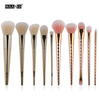 MAANGE 10PCS Cosmetic Makeup Brush Makeup Brush Eyeshadow Brush For Face Make Up Beauty Top Quality