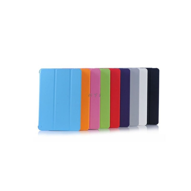 Funda de cuero PU con soporte de tapa inteligente ultradelgada para Apple iPad Mini 1 2 3 Retina /La función del sueño
