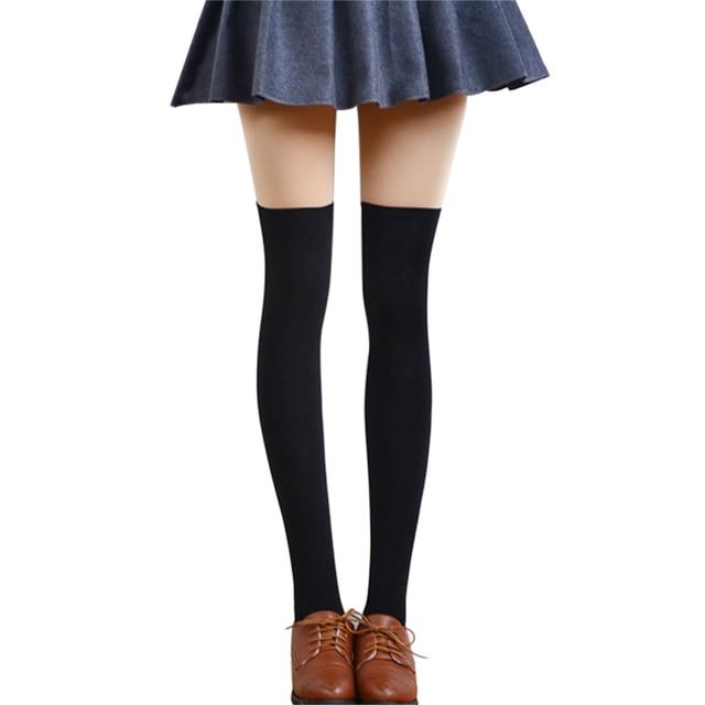 5e5834eb6 Mileegirl Sexy Fashion Women Girl Thigh High Stockings Knee High Socks