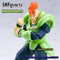 DRAGONBALL Dragon Ball Z/Kai Originele Tamashii Naties Shfiguarts/SHF Exclusieve Action Figure-Android Nr 16