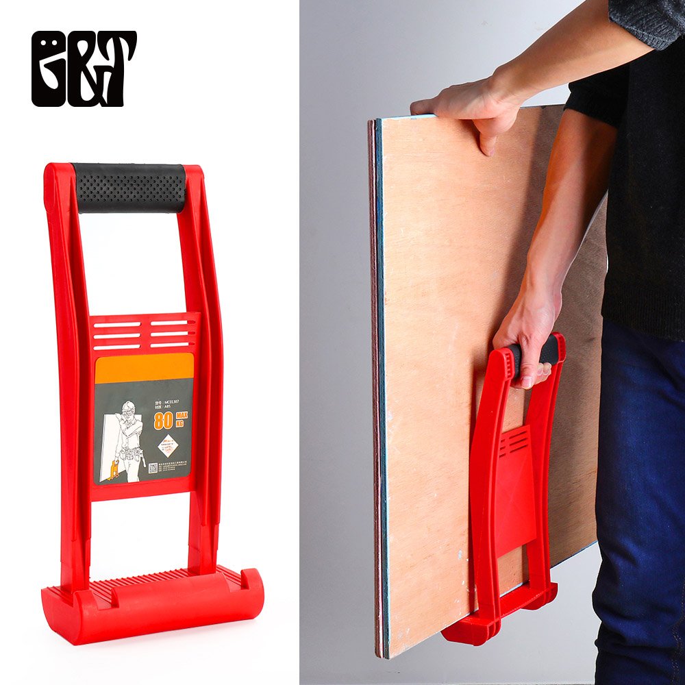 GT ABS Panel Carrier 80KG Load Premium Plywood Load Panel Carrier Gripper Handy Grip Gripper Handle Carry Drywall Plywood Sheet