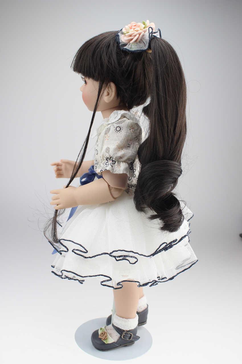 Venda quente bela sd/bjd boneca 18 polegada de alta qualidade artesanal boneca para crianças