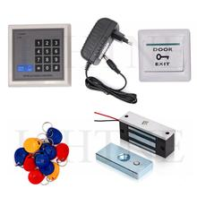 RFID Proximity Card 125KHz Card Password Door Access Control system Entry System 100lbs Magnetic Lock Kit
