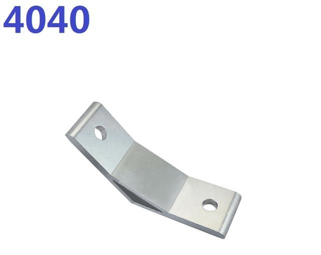 4 teile los 4040 angle connector 135 grad winkel halterung halterung aus industrie aluminium. Black Bedroom Furniture Sets. Home Design Ideas
