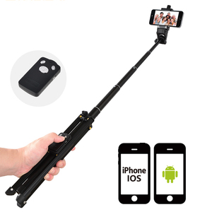 Image 4 - 3 in 1 Yunteng 1688 Bluetooth Remote Shutter Portable Handle Selfie Stick Mini Table Tripod For IOS Android Iphone Samsung Gopro