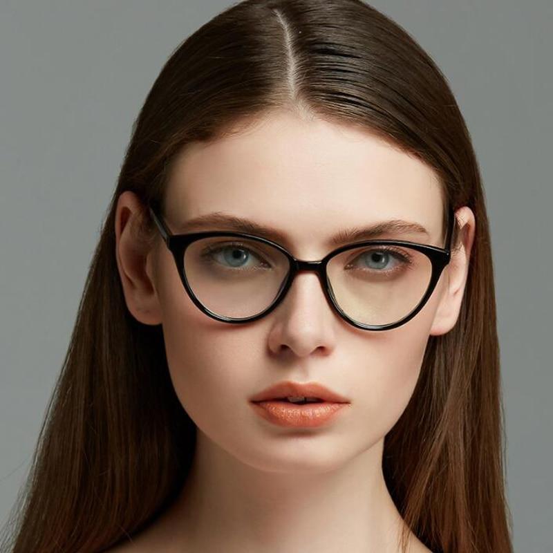 7d83c372f4e Dokly Elegant type round frame glasses Vintage Woman Glasses Frame Classic  Eyeglasses Frames Women s Glasses Eyewear-in Eyewear Frames from Apparel ...