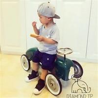 Студийный Реквизит фотография классический металлический скутер фотосессия аксессуары для ребенка принадлежности для фотосъемки Железны...
