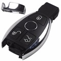 BGA Style 3 Buttons Smart Remote Car Key Shell Case for Mercedes For Benz E S After 2000 With L0G0