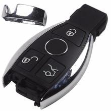 BGA Стиль 3 Кнопки Smart Remote Ключа Автомобиля Shell Чехол для Mercedes-Benz E S После 2000 года С L0G0