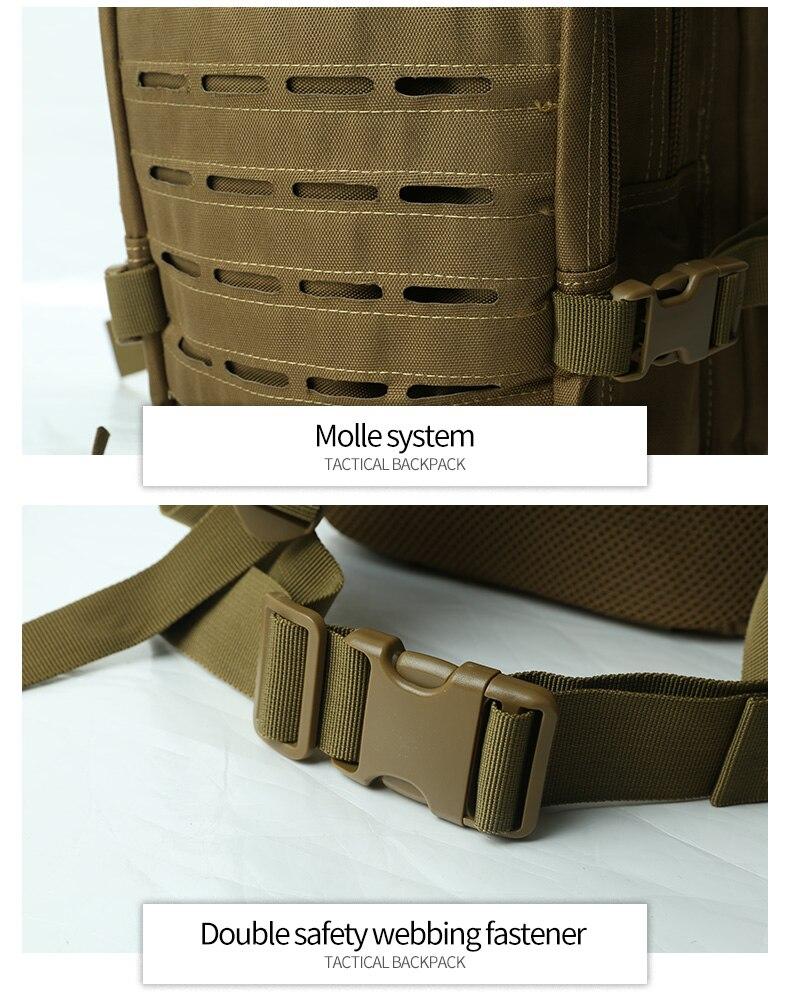 sac militaire sac randonnée camping pêche chasse 30L