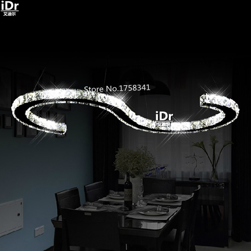 Restaurant lights led crystal chandelier modern minimalist living room lamp bedroom lamp and Upscale atmosphere lamp