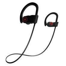 Fones de Ouvido Bluetooth Esportes Sem Fio Fones De Ouvido w/Mic IPX7 Sweatproof Fones de Ouvido Estéreo À Prova D' Água HD