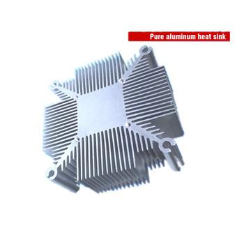 20w-50w czysty aluminiowa chłodnica cob radiator led chłodzenia DIY oprawy oświetlenia Led tanie i dobre opinie KsGrowl CN (pochodzenie) 92x92x25mm