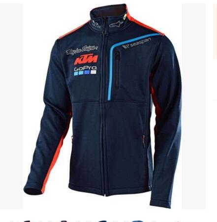 <font><b>KTM</b></font> <font><b>MOTO</b></font> <font><b>GP</b></font> <font><b>racing</b></font> suit sweater <font><b>motorcycle</b></font> riding sweater jacket <font><b>motorcycle</b></font> rider collar sweater Thin section