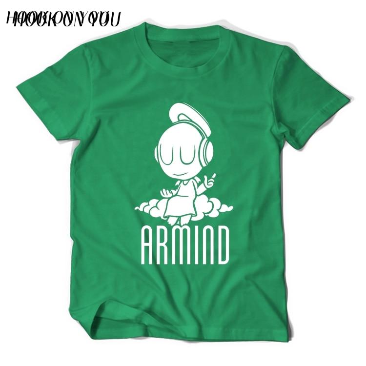 2017 Musikstjärnor DJ Armin Van Buuren T-shirt liten ängel Armind 2 - Herrkläder - Foto 2