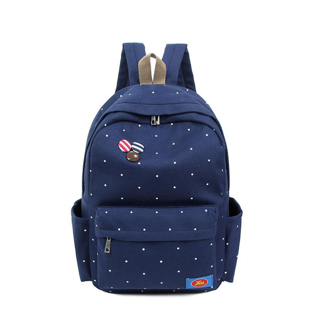 a5150d0ba Women Backpack for School Teenagers Girls Vintage Stylish School Bag Ladies Canvas  Backpack Female Back Pack High Quality