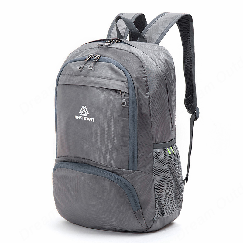 Image 2 - Lightweight Foldable Waterproof Nylon Women Men Skin Pack Backpack 20L Travel Outdoor Sports Camping Hiking Bag Rucksackhiking bagrucksack bagrucksack 20l -