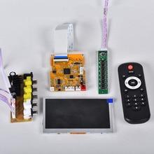 Audio Video Decoder 4.3 Lcd scherm DTS Lossless Bluetooth Module mp4/mp5 HD Video APE/WAV/MP3 Decodering Board FM Module