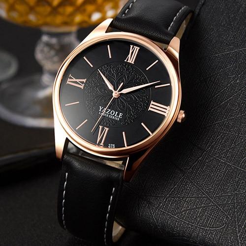 YAZOLE Business Wrist Watch Men Watches Top Brand Luxury Famous Male Clock Quartz Wristwatches For Men Hodinky Relogio Masculino