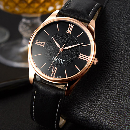 YAZOLE D'affaires Montre-Bracelet Hommes Montres Top Marque De Luxe Célèbre Mâle Horloge À Quartz Montres Pour Hommes Hodinky Relogio Masculino