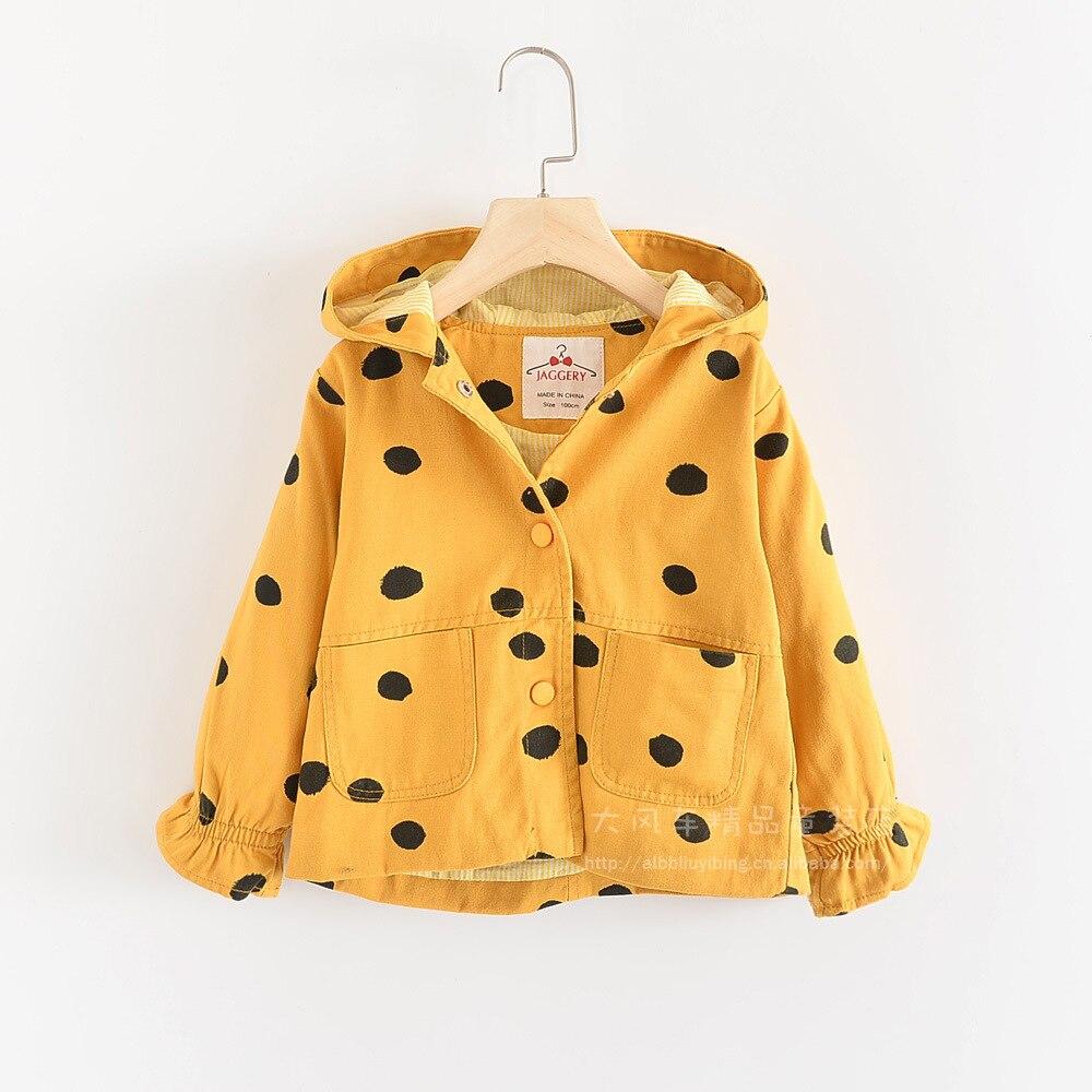 Toddler Girls Autumn leisure sequins Denim Coat Zipper Jacket Hooded Overcoat