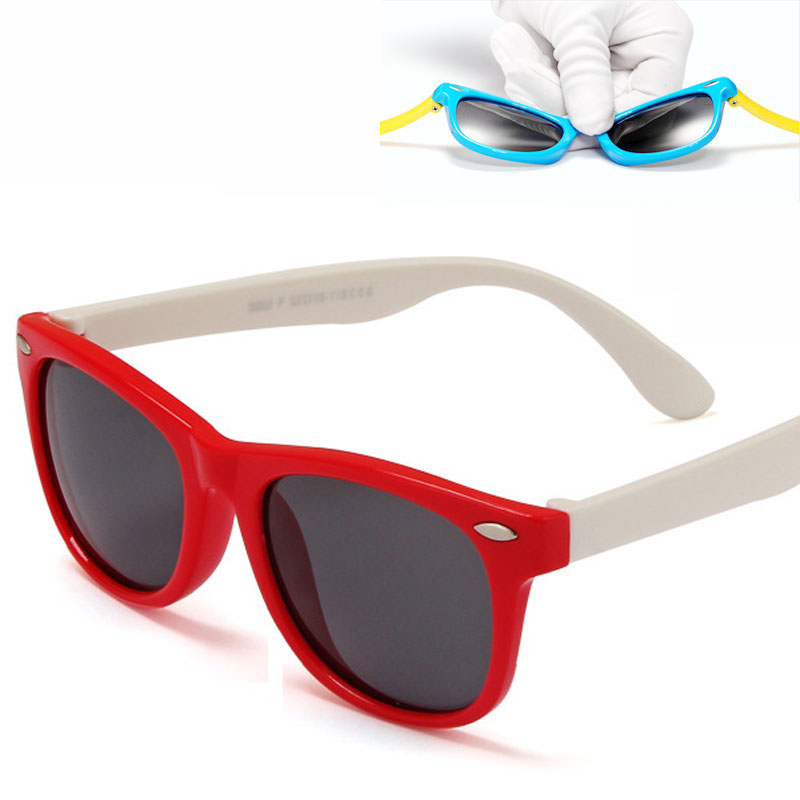 2016 New Children TAC Polarized Sunglasses Kids Designer Sport Shades For Girls Boys Goggle Baby Glasses