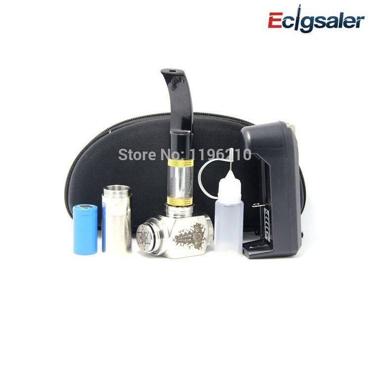 2017 new 2.5ml 618 PIPE Atomizer hammer mechanical mod clone ecig vapor cigarette Zipper case kit - Ecigsaler Store store