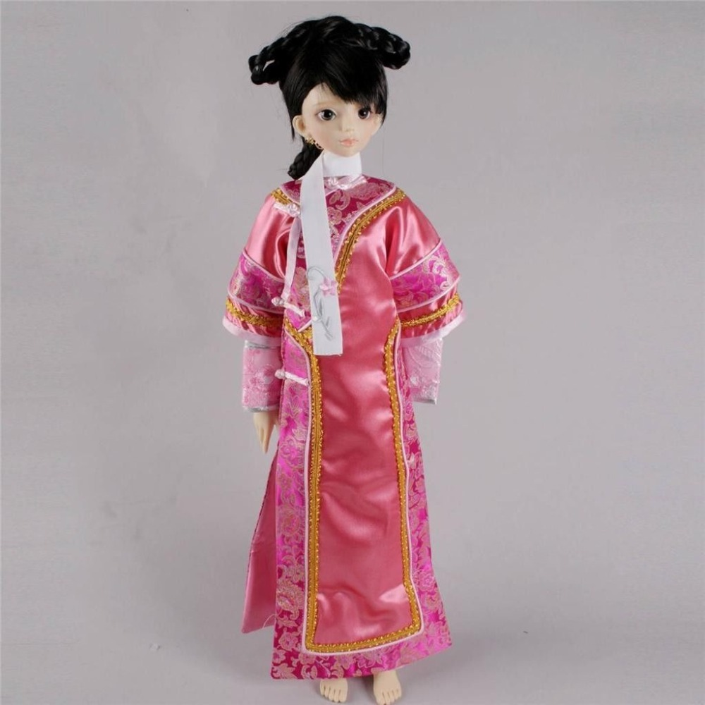 [wamami] 699# Pink Chinese Classical Dress set For 1/3 SD AOD DOD BJD Dollfie 699 pink chinese classical long dress suit for 1 3 sd bjd dollfie