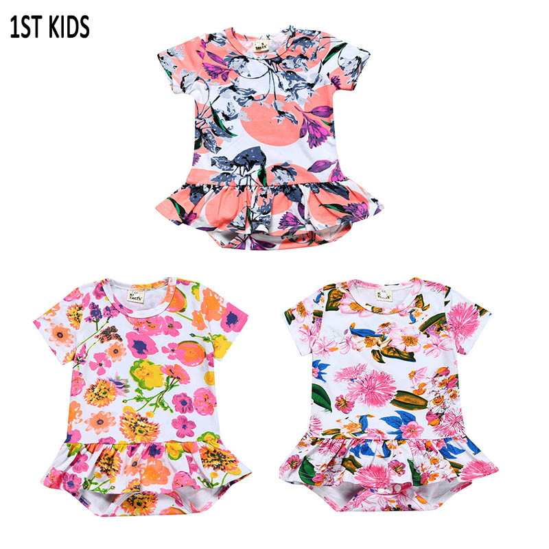 Aliexpress Com Buy New Baby Floral Romper Baby Girls