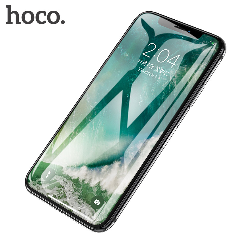 HOCO for Apple iPhone X 3D Full Tempered Glass Film Screen Protector Protective Full Cover Touch Screen Protection for iPhone 10