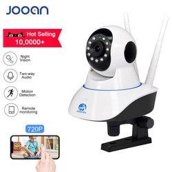 JOOAN ip كاميرا كاميرا أمان لاسلكية مراقبة الطفل 1MP كاميرا تلفزيونات الدوائر المغلقة ip واي فاي البسيطة كاميرا 720P كاميرات المراقبة