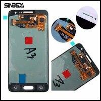 Sinbeda Super AMOLED LCD Display For Samsung Galaxy A3 2015 A300 A300X A300H A300F A300FU Touch