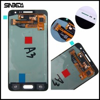 Sinbeda Super AMOLED LCD Display For Samsung Galaxy A3 2015 A300 A300X A300H A300F A300FU Touch