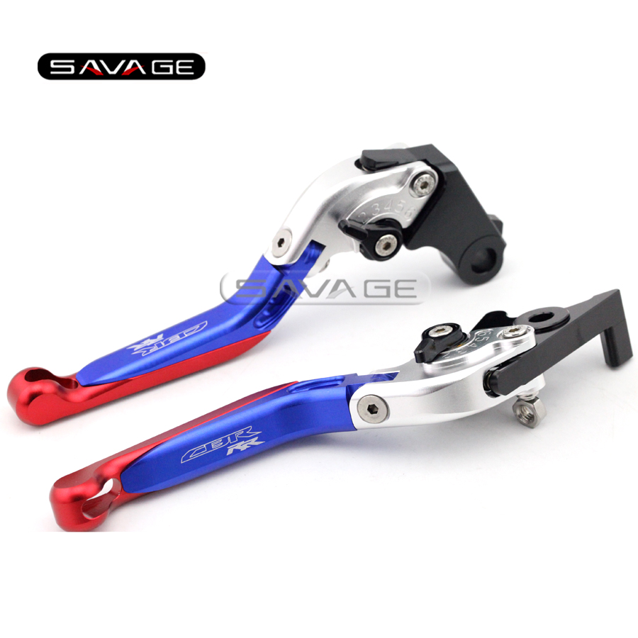 For HONDA CBR250R CBR300R CB300F CBR500R CB500F CB500X Motorcycle Adjustable Folding Extendable Brake Clutch Levers logo CBR RR billet new alu long folding adjustable brake clutch levers for honda cbr250r cbr 250 r 11 13 cbr300r 14 cbr500r cb500f x 13 14