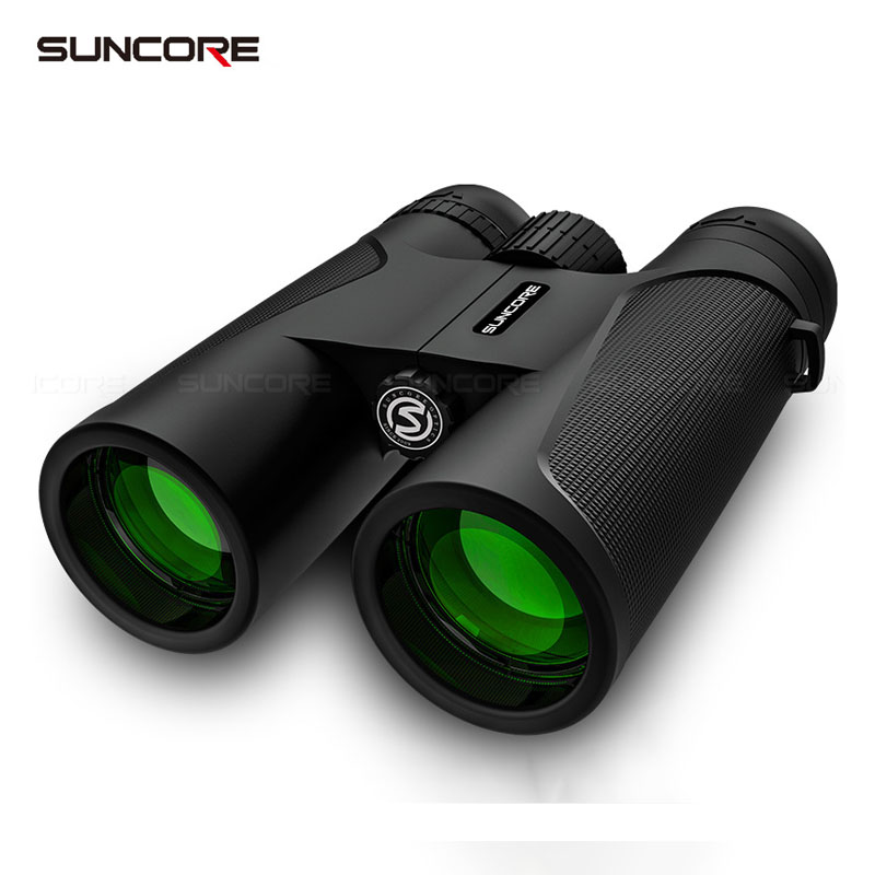 12x42 binoculos hd de alta potencia bak 4 prisma multi camada revestimento verde telescopio portatil caminhadas