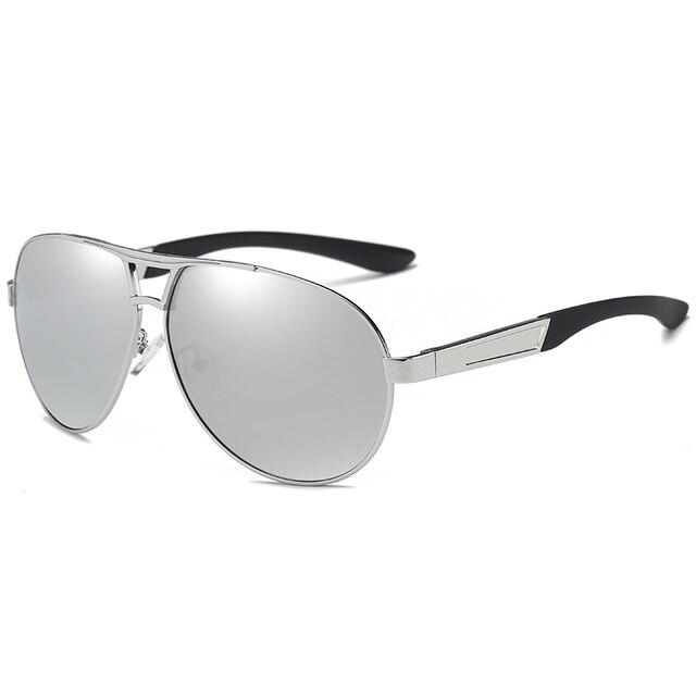 JULI Men Aluminum Polarized Sunglasses Men Classic Brand Sunglasses Police Eyewear Coating Mirror Sun Glasses Driving Oculos