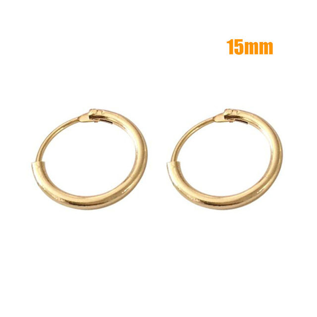 Hot Sale Hoop Earrings 40mm 60mm 70mm Big Smooth Circle Earrings Basketball Brincos Loop Earrings for Women Jewelry Oorbellen