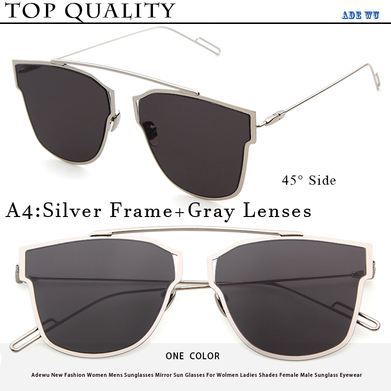d91edc38bed Adewu New Men 10 Colour Luxury Cat Eye Sunglasses Male Women Sunglasses Or  oculos Double Deck Alloy Frame UV400 cool Glasses Man-in Sunglasses from  Apparel ...